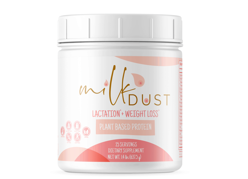 milk dust breastfeeding protein powder